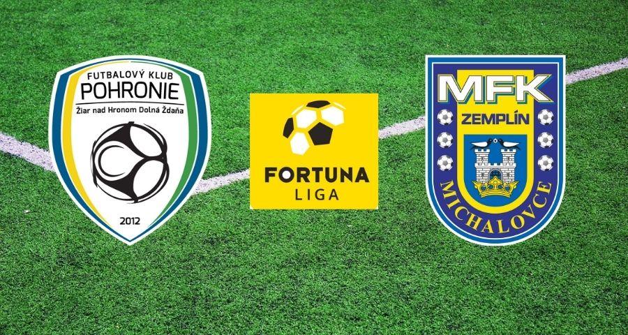 Sledujte predzápasovú analýzu k 19. kolu Fortuna Ligy: Pohronie - Michalovce