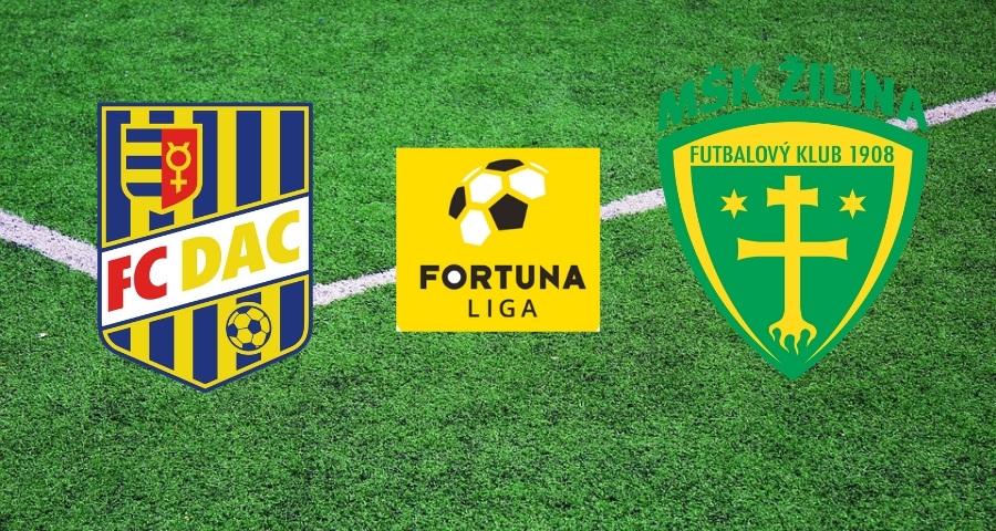 Sledujte predzápasovú analýzu 20. kola Fortuna Ligy: DAC Dunajská Streda - Žilina