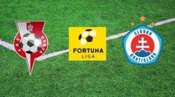 Sledujte predzápasovú analýzu 21. kola Fortuna ligy a zápasu Sereď - Slovan Bratislava
